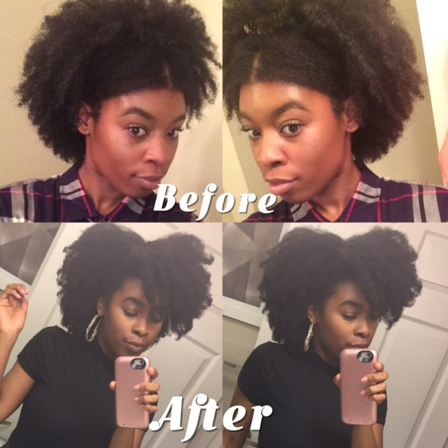 Heatless Blowout Tutorial 4b 4c Hair Kinkzwithstyle